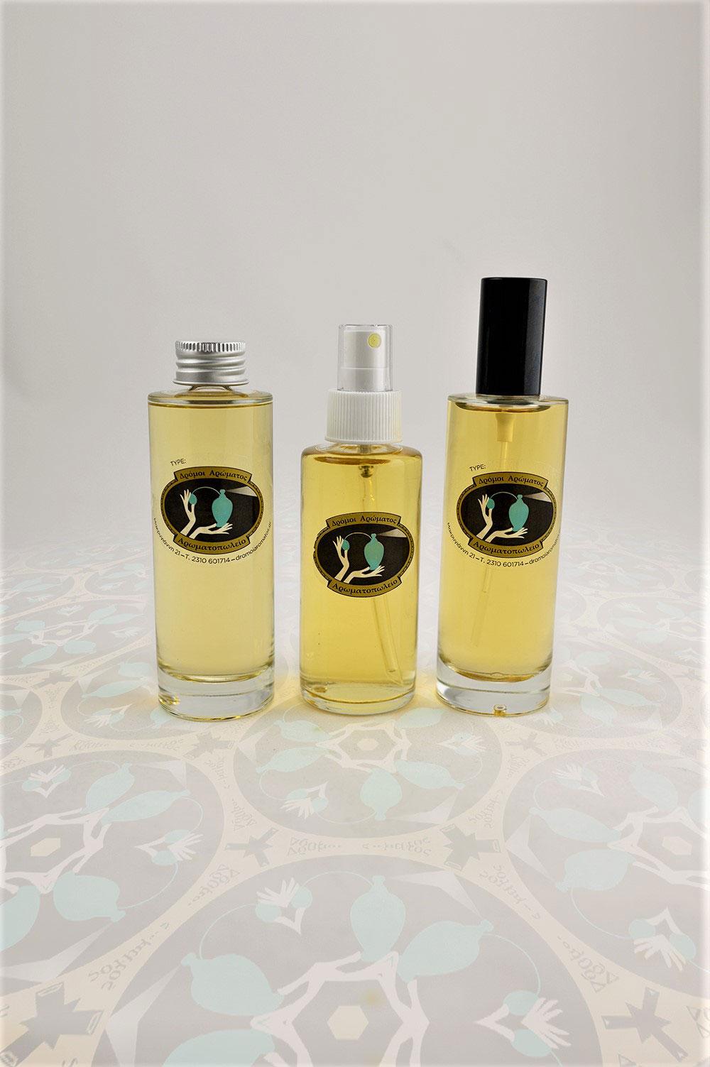Σετ 100ml χύμα άρωμα+150ml dry body oil+200ml shower gel